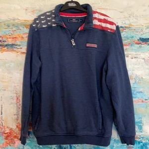 Vineyard Vines Sweatshirt Pullover Front Pocket S